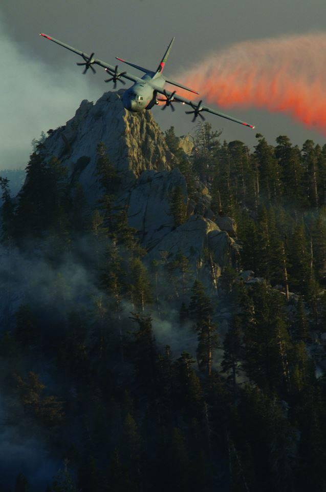 California Air National Guard MAFFS drops