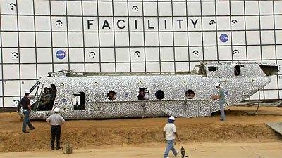 NASA helicopter crash test