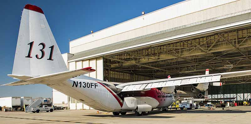 air tanker 131 at San Bernardino