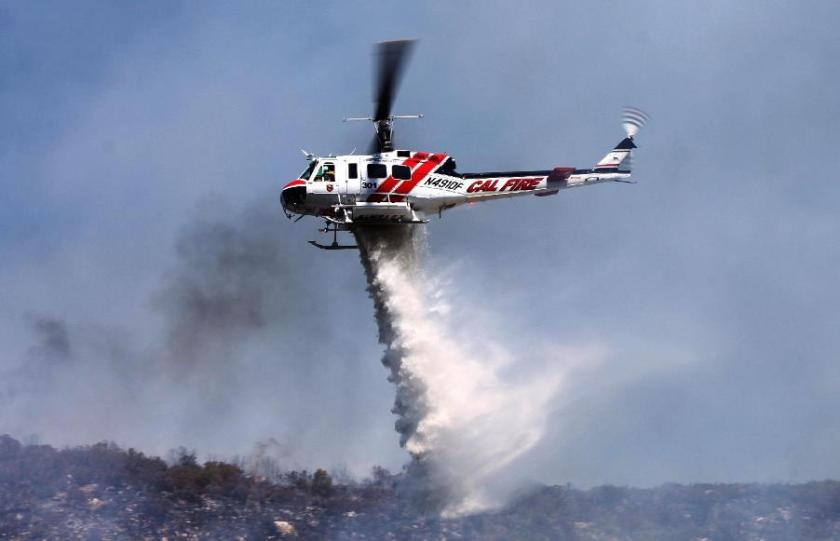 CAL FIRE Helicopter 301 July 16