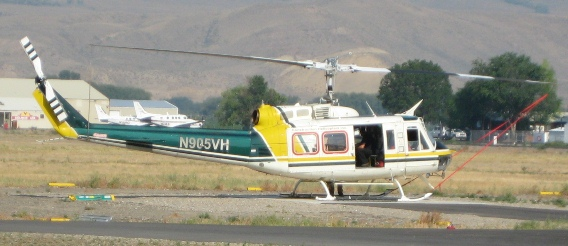Bell 205A-1 at Salmon ID