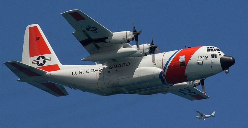 Coast Guard C-130H No 1719