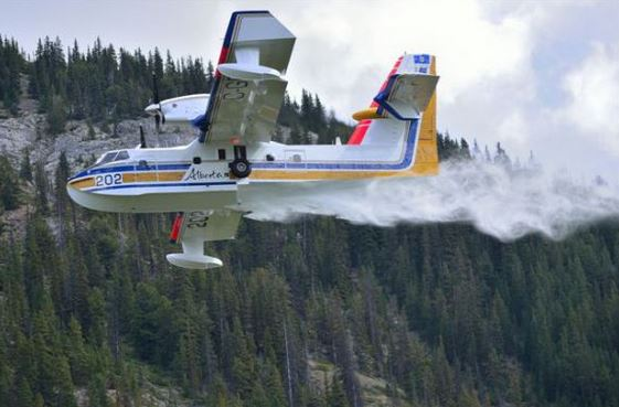 Alberta air tanker 202