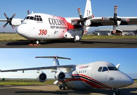 C-130Q and RJ-85.