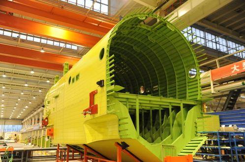 AG600 fuselage