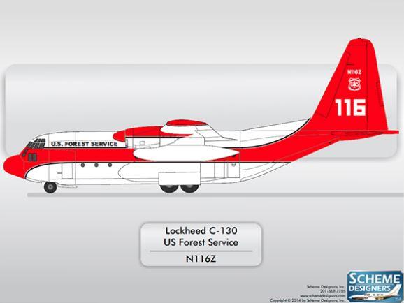 C-130 paint design