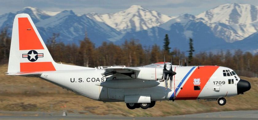 Coast Guard C-130H Number 1709