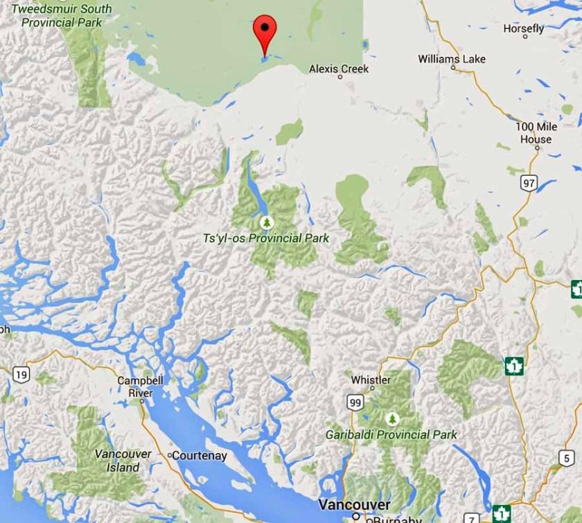 Puntzi Lake air tanker crash