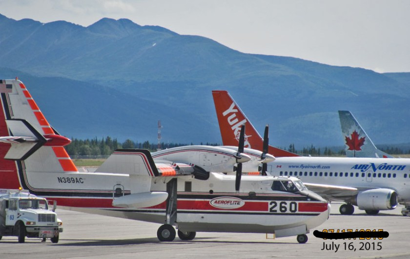 Air Tanker 260 at Whitehorse