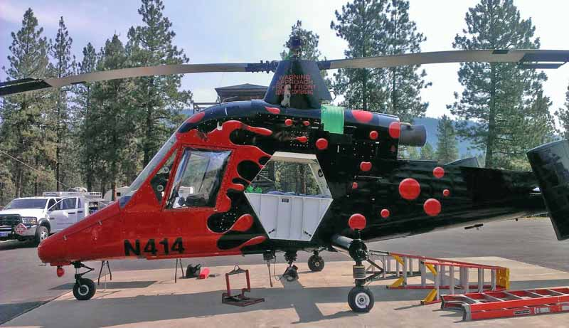 K-MAX helicopter