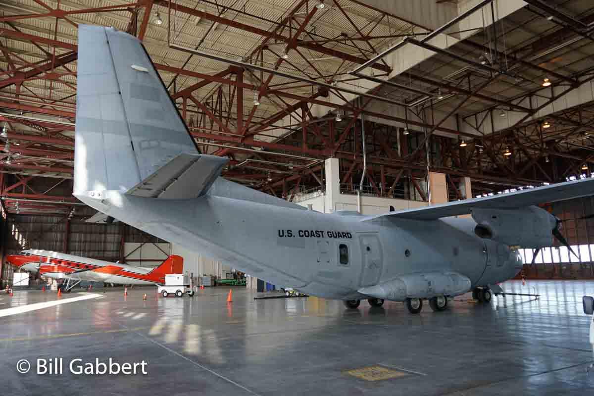 Interesting aircraft seen at McClellan Airfield