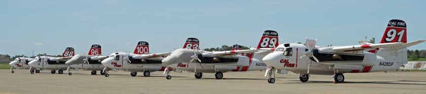 S-2T air tanker CAL FIRE