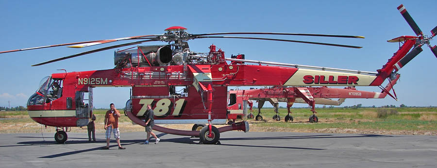 Contracts awarded for 34 Type 1 firefighting helicopters