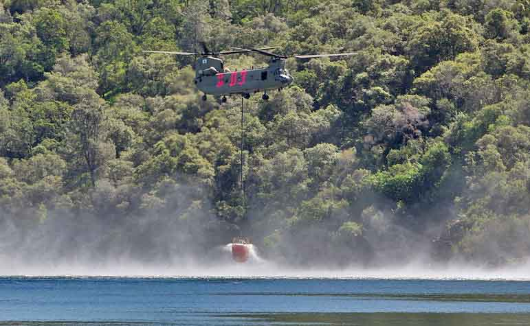 national guard helicopter fire traning