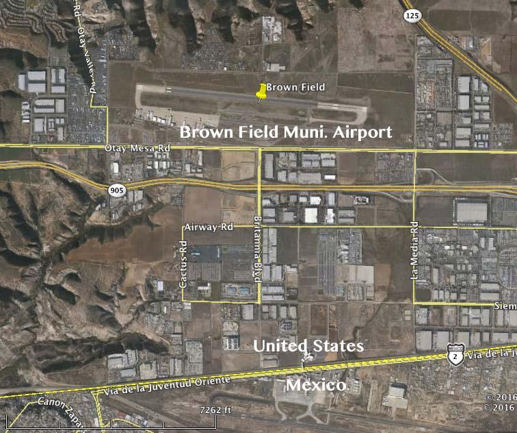 Brown Field map