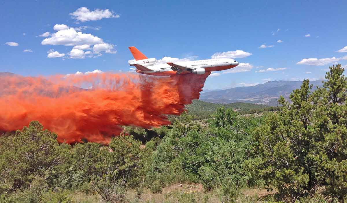 DC-10 Hayden Pass Fire