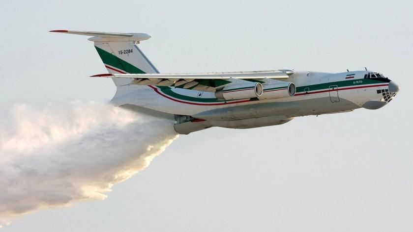 IL-76TD air tanker