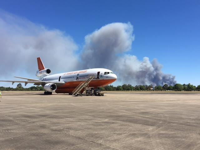 Tankers 910 and 132 respond to fires in New South Wales