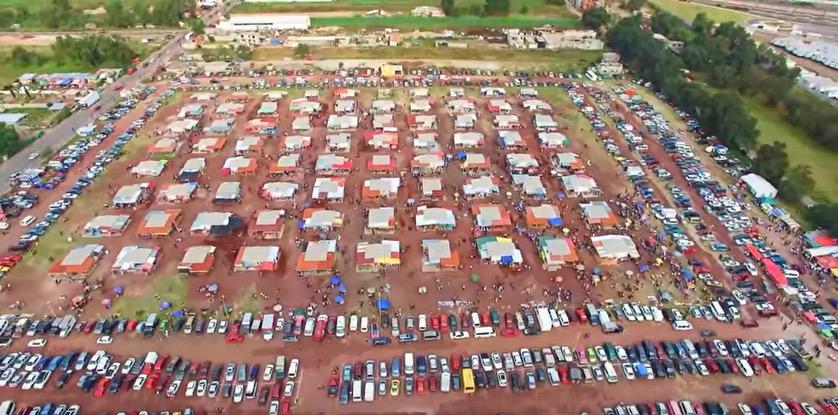 Tultepec fireworks market
