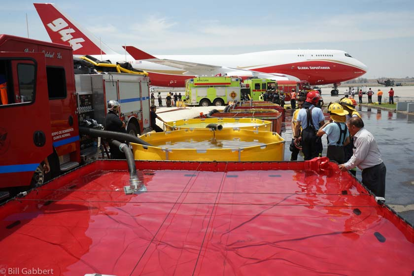 Photos of the SuperTanker the day it arrived in Santiago