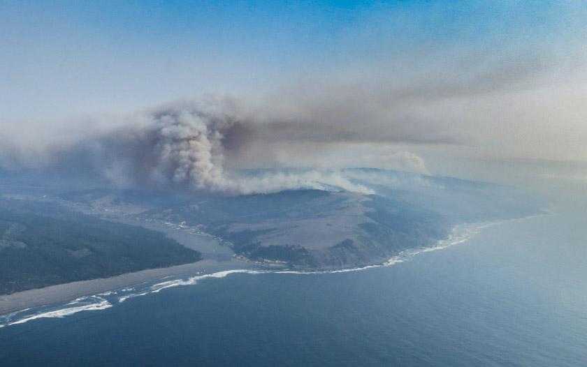 Chile fires 747 supertanker