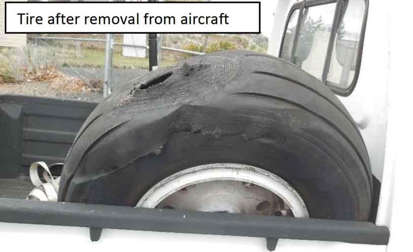 tire failure Sherpa