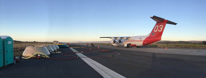Contract possibilities for U.S. air tankers in the southern hemisphere