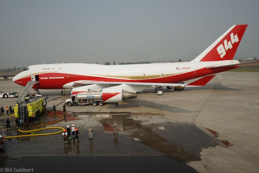 747 Supertanker Santiago, Chile