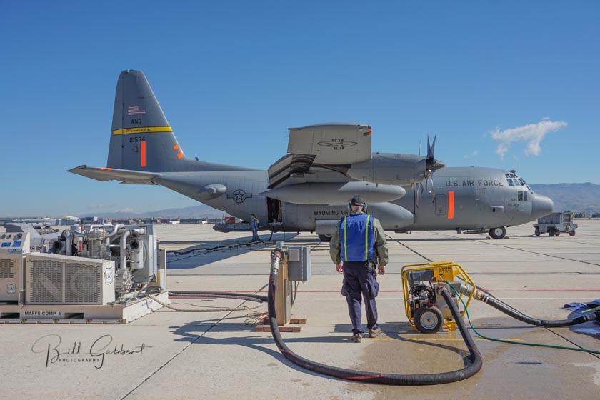 C-130 MAFFS air tanker Loadmaster Interview