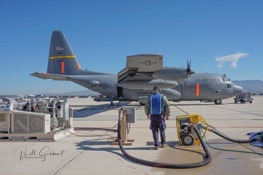 C-130 MAFFS air tanker Loadmaster Interview