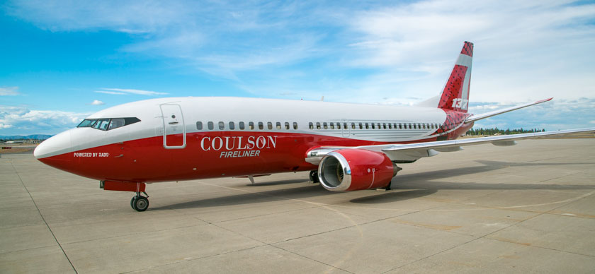 Coulson 737 air tanker