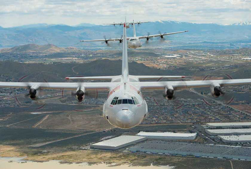 Coulson C-130 air tankers