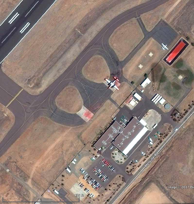 Air tanker base ramp Prescott Airport