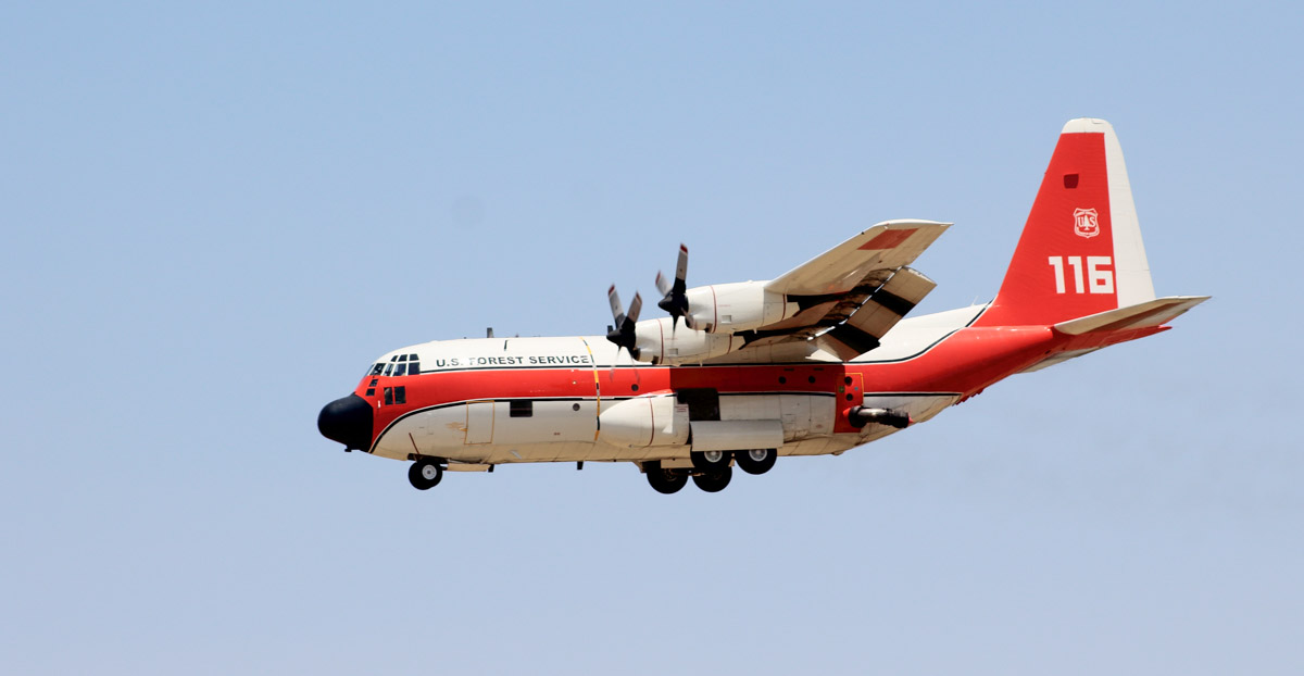 CAL FIRE hopes to get the seven HC-130H's the Forest Service turned down