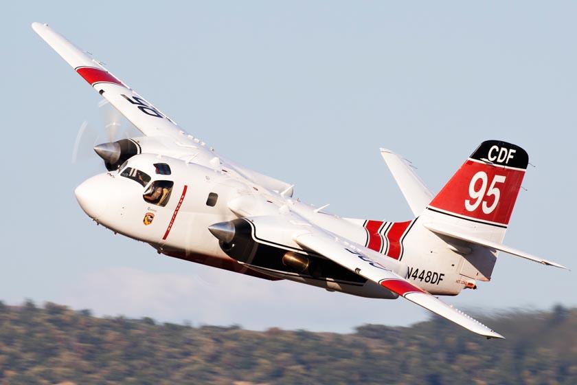 Air tanker 95 at Medford