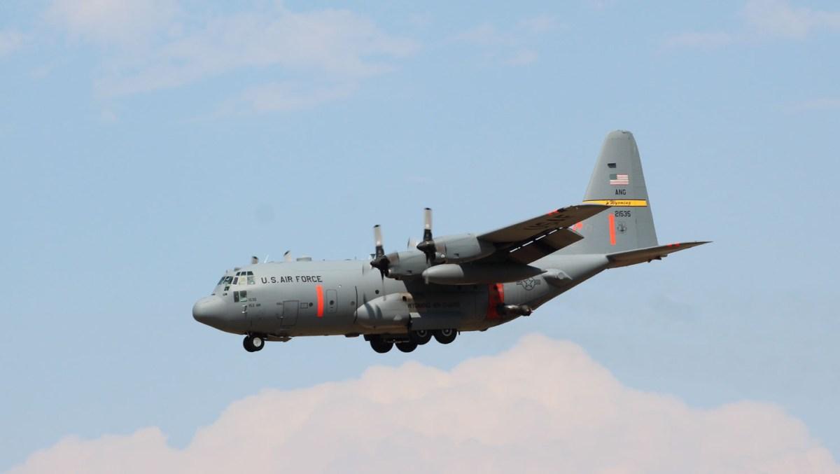Photos of all three activated MAFFS aircraft