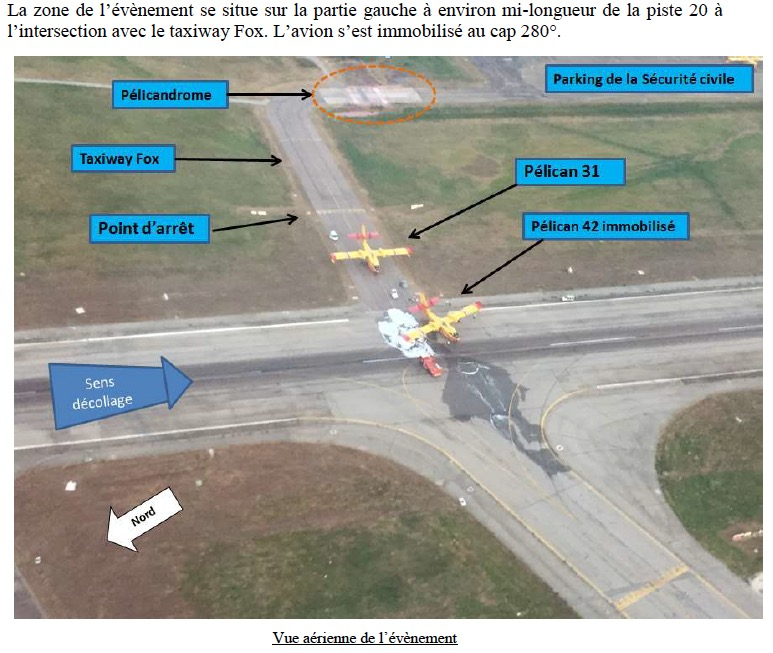 Report released on landing gear failure on CL-415 in France