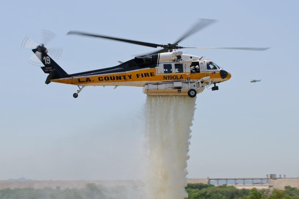 firehawk helicopter LA County FD