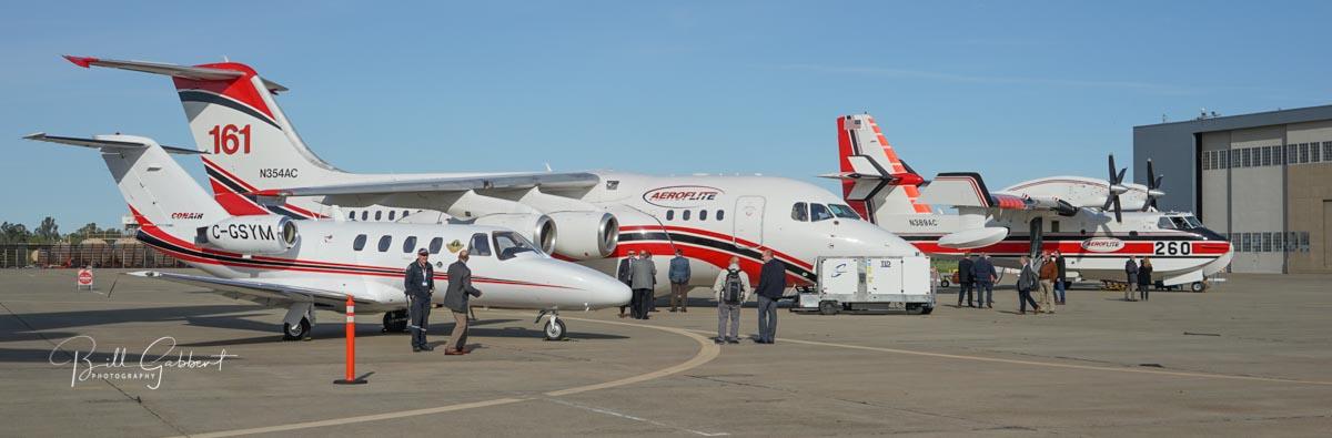 Sacramento McClellan Airport air tankers