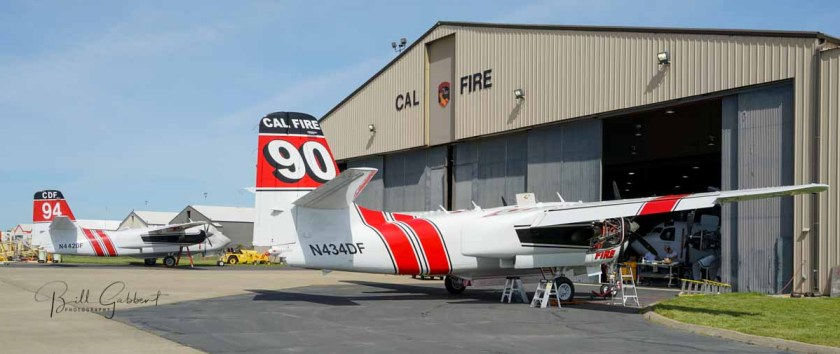 S2 air tankers CAL FIRE facilities McClellan