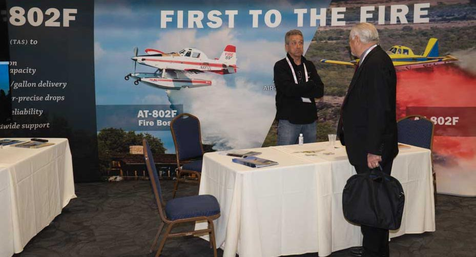 News from the Aerial Firefighting conference, Part One
