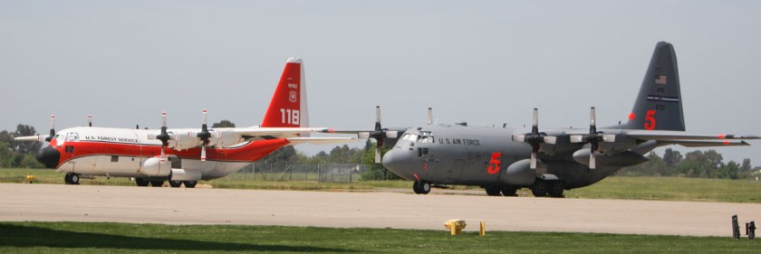 MAFFS aircraft air tanker military