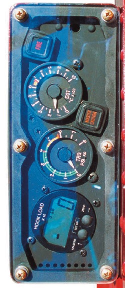 K-MAX external instrument panel