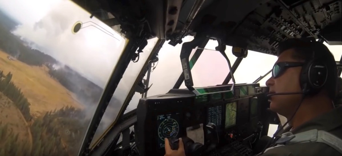 MAFFS cockpit video