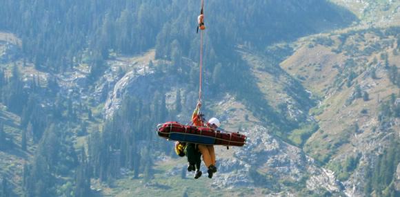 Forest Service conducts their first short-haul medevac