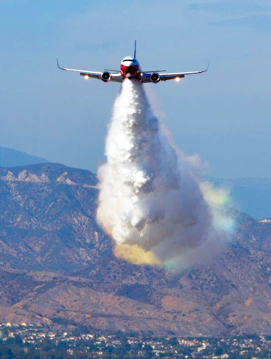 air tanker 137 737 fire