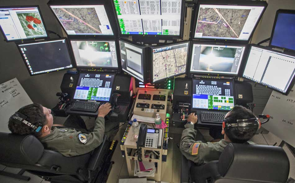 National Guard uses MQ-9 Reaper drone to improve firefighters' situational awareness