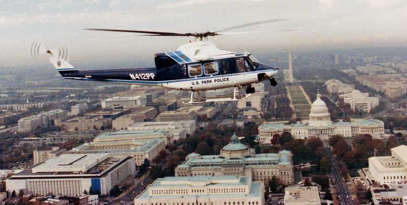 U.S. Park Police helicopter
