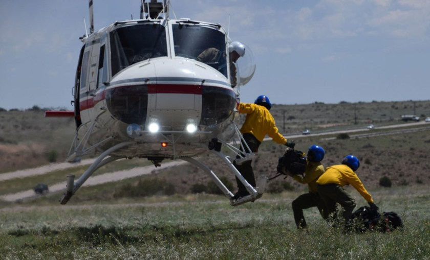 Colorado Division of Fire Prevent and Control Cañon Helitack