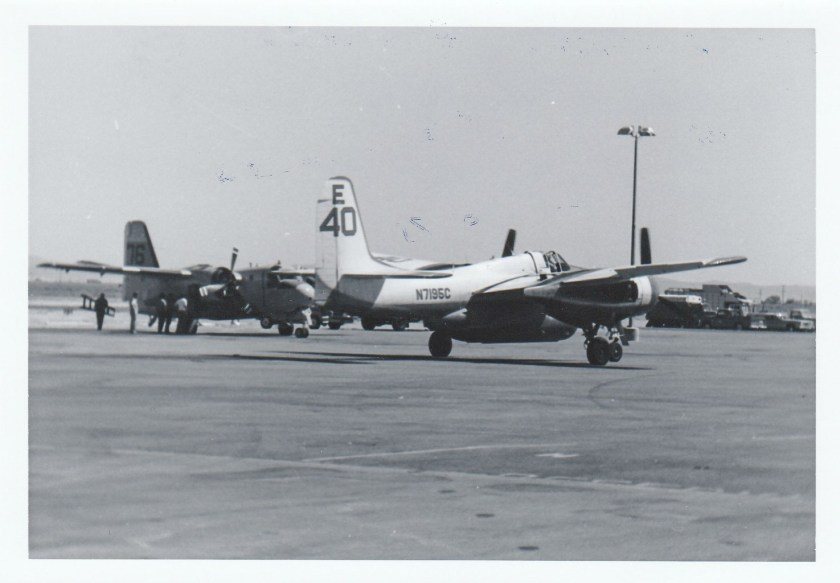 F7F-3 N7195C, air Tanker 40